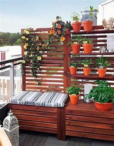 Fensterfolie Sichtschutz Ikea : 40 ideen f r attraktive balkon gestaltung f r wenig geld ~ Markanthonyermac.com Haus und Dekorationen