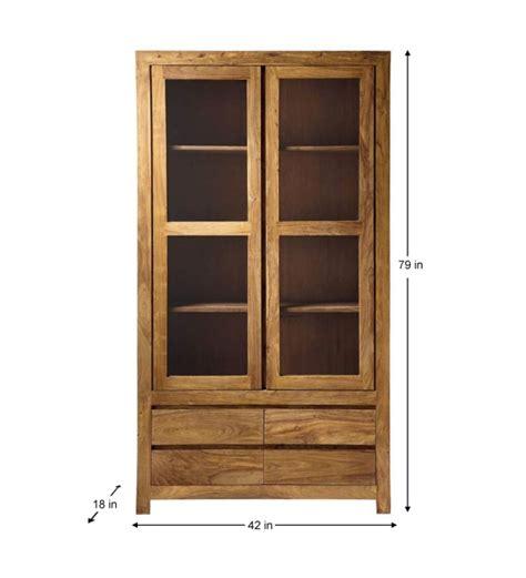 cinnamon glass door crockery cabinet by mudramark kitchen cabinets kitchen dining