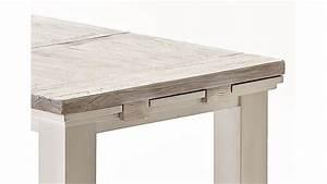 Esstisch Weiß 140 Ausziehbar : esstisch opus tisch in kiefer massiv wei vintage 140 180 ~ Markanthonyermac.com Haus und Dekorationen