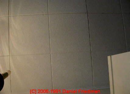 identify asbestos ceiling tiles remodel