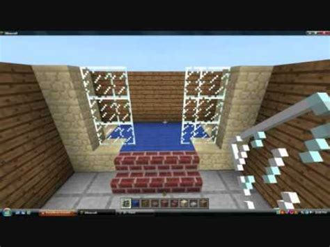 minecraft pe tutorial 12 bathroom 2 0