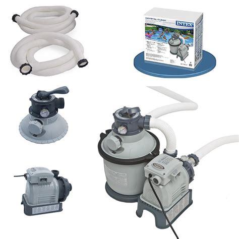 intex pompe de filtration 192 filtre 192 4m3 hr pour piscine hors sol ebay