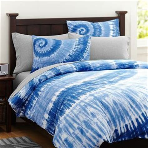 surfers point tie dye duvet cover sham from pbteen bedding