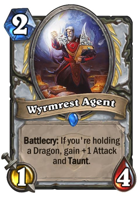 wyrmrest hearthstone card
