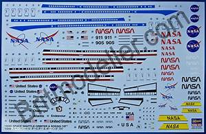Space Shuttle Decal Sheet - Pics about space