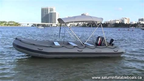 Inflatable Boats Online by 18 Saturn Inflatable Boat Youtube