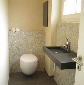Wandgestaltung Gäste Wc : 1000 images about g ste wc auf pinterest toiletten deko und industriell ~ Markanthonyermac.com Haus und Dekorationen