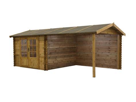 abri de jardin carport rochester bois trait 233 28 mm