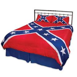 rebel flag three comforter set budk knives
