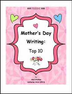 """FREE LANGUAGE ARTS LESSON – """"Mother's Day Writing: Top 10 ..."""