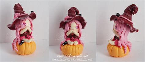 witch in fimo 01 by nailyce on deviantart