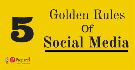 5 Golden Rules For Sharing On Social Media  Social Media Coach — Prepare 1