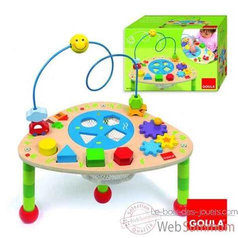 table activit 233 s goula dans jeu et eveil de jouet bois goula sur le bois des jouets