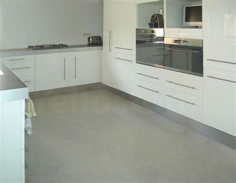 cuisine et plan de travail beton cir 233 yellostone cuisine et sol