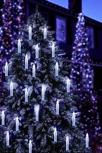Weihnachtsbaum Led Außen : funk weihnachtsbaum beleuchtung au en batteriebetrieben 20 led warm wei polarlite kaufen ~ Markanthonyermac.com Haus und Dekorationen