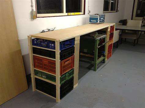Schuur Inrichten Als Werkplaats by Werkbank In De Schuur Werkbank Pinterest Werkbank