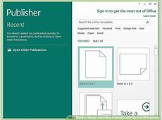 How to Make a Monthly Calendar with Microsoft Publisher