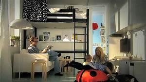 Teenager Zimmer Kleiner Raum : ikea f r kleine r ume clevere ideen f r mehr platz youtube ~ Markanthonyermac.com Haus und Dekorationen