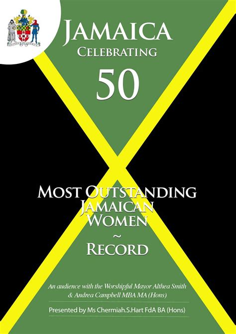 Calaméo  50 Most Outstanding Jamaican Women Record