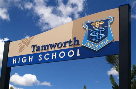 Tamworth High School Welcome Sign  Danthonia Designs Usa. Free Printable Wedding Hashtag Signs Of Stroke. Ornamental Signs. Total Fire Ban Signs. Listorganic Signs. Recycling Signs Of Stroke. Fish Restaurant Signs. Hastag Signs Of Stroke. Nervous Disorder Signs