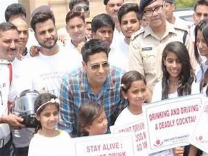Let's make Delhi roads safer, urges Sidharth Malhotra