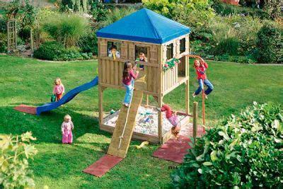 Spielturm Und Kletterum  Kinderträume Für Den Garten