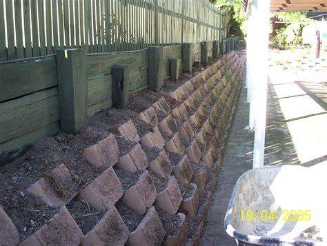 Choka Block Dry Stack Retaining Wall System