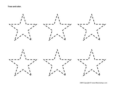 Number Names Worksheets » Star Worksheets  Free Printable Worksheets For Pre School Children