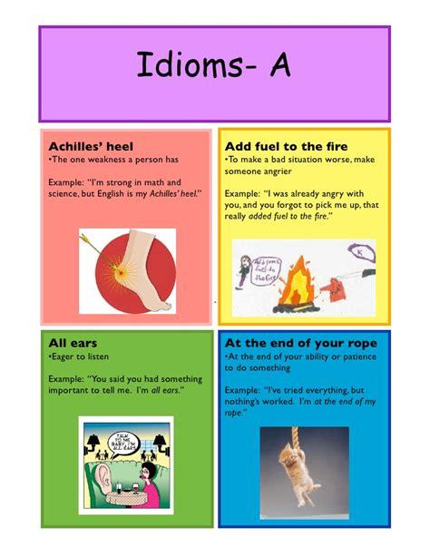 Idioms Slang Sayings Ts55