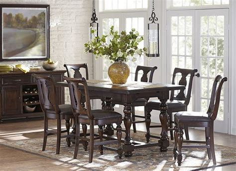 morningside counter height dining set at haverty s dining counter height table
