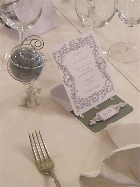 table mariage th 232 me ange blanc et gris photo de d 233 co de table les passions scrap et d 233 co