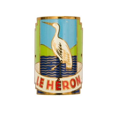 plaque de velo le heron annees 70 jpg 468 215 468 pixel bicycle metal plaque vintage logos