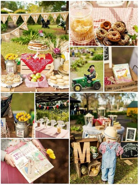 Kara's Party Ideas Farm Themed Birthday Party Full Of