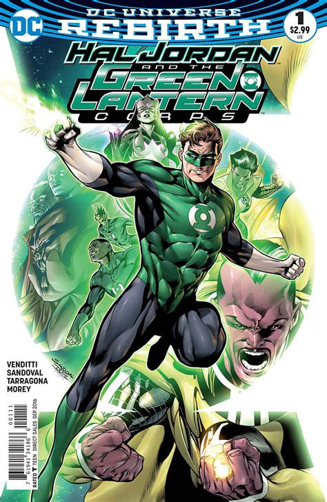 preview vo hal and the green lantern corps 1 dcplanet fr