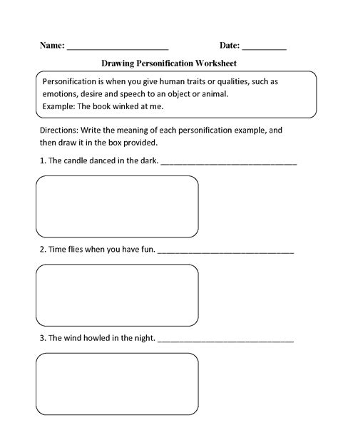 15 Best Images Of Figurative Language Worksheets 2nd Grade  Idioms And Figurative Language