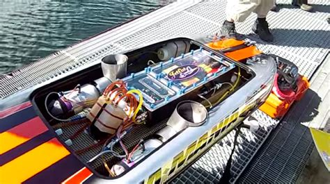 Boat Engine Video by What S Cooler Than A Jet Engine In A Boat Two Jet Engines