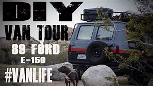 DIY: Van Life Tour Ford E-150 conversion - YouTube