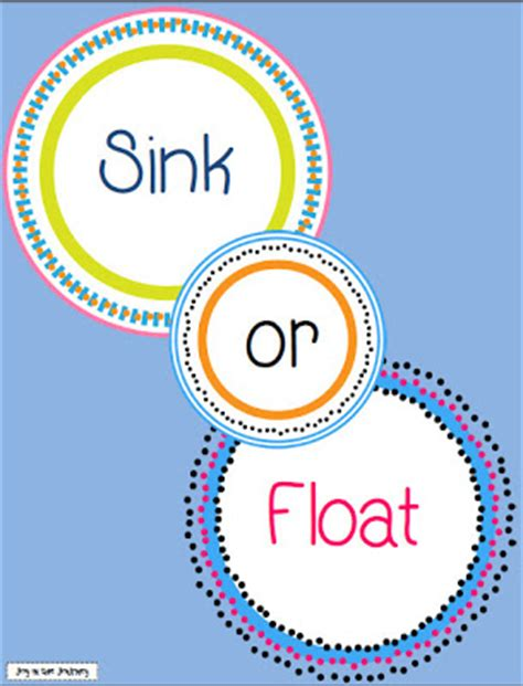 sink or float in the journey