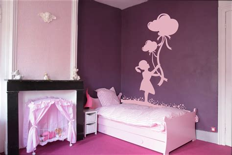 chambre fille deco murale chambre bebe fille