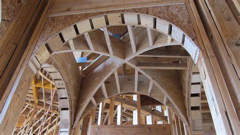 Groin Vault Ceiling Framing by Joie De Vivre Jeff Seal Homes Of Distinction