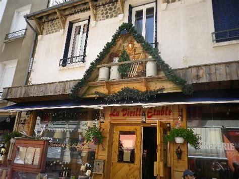 le restaurant picture of la vieille etable le mont dore tripadvisor