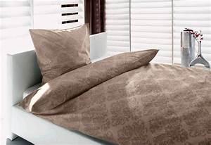 Bettwäsche 155x220 Beige : barock bettw sche 155x220 100 baumwolle baumwollsatin stone beige rei verschlu ebay ~ Markanthonyermac.com Haus und Dekorationen