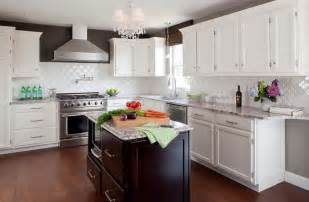 tile kitchen backsplash ideas with white cabinets home