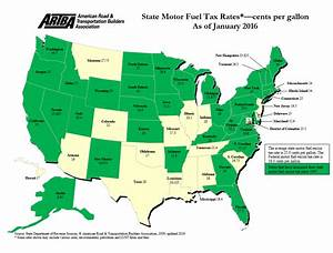 State Motor Fuel Tax Rates | The American Road ...