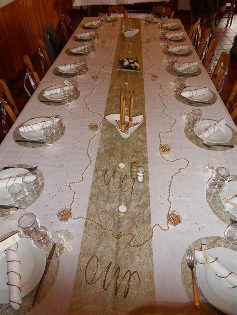 id 233 e d 233 coration de table noces d or d 233 corations de table