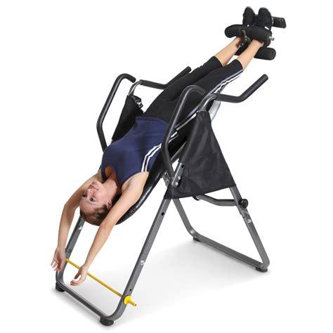 the inversion machine and captain s chair hammacher schlemmer