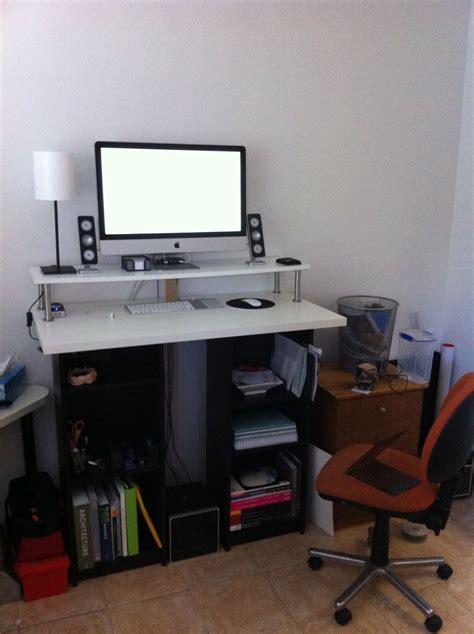 a bargain diy ikea standing desk lifehacker australia