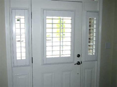 Front Door Window Treatments Front Door Window Treatments