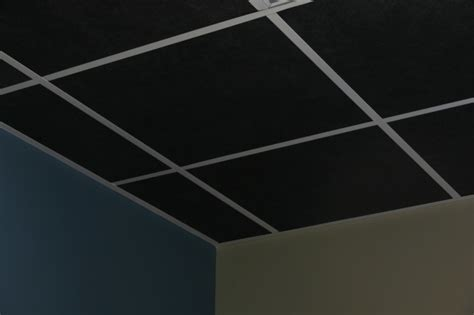 black acoustical ceiling tile soundacousticsolutions