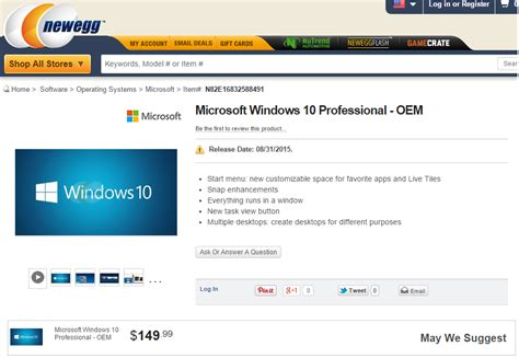 Newegg Just Leaked The Windows 10 Price And Release Date. Sample Medical Assistant Resumes. Resume Format For Microsoft Word. Paramedic Resume Sample. Skills And Abilities List For Resume. Standard Resume Format For Engineers. Resume Builder Tips. Qualification Sample For Resume. What To Put As Skills On A Resume